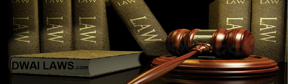 Know your rights regarding the new DWAI Laws.